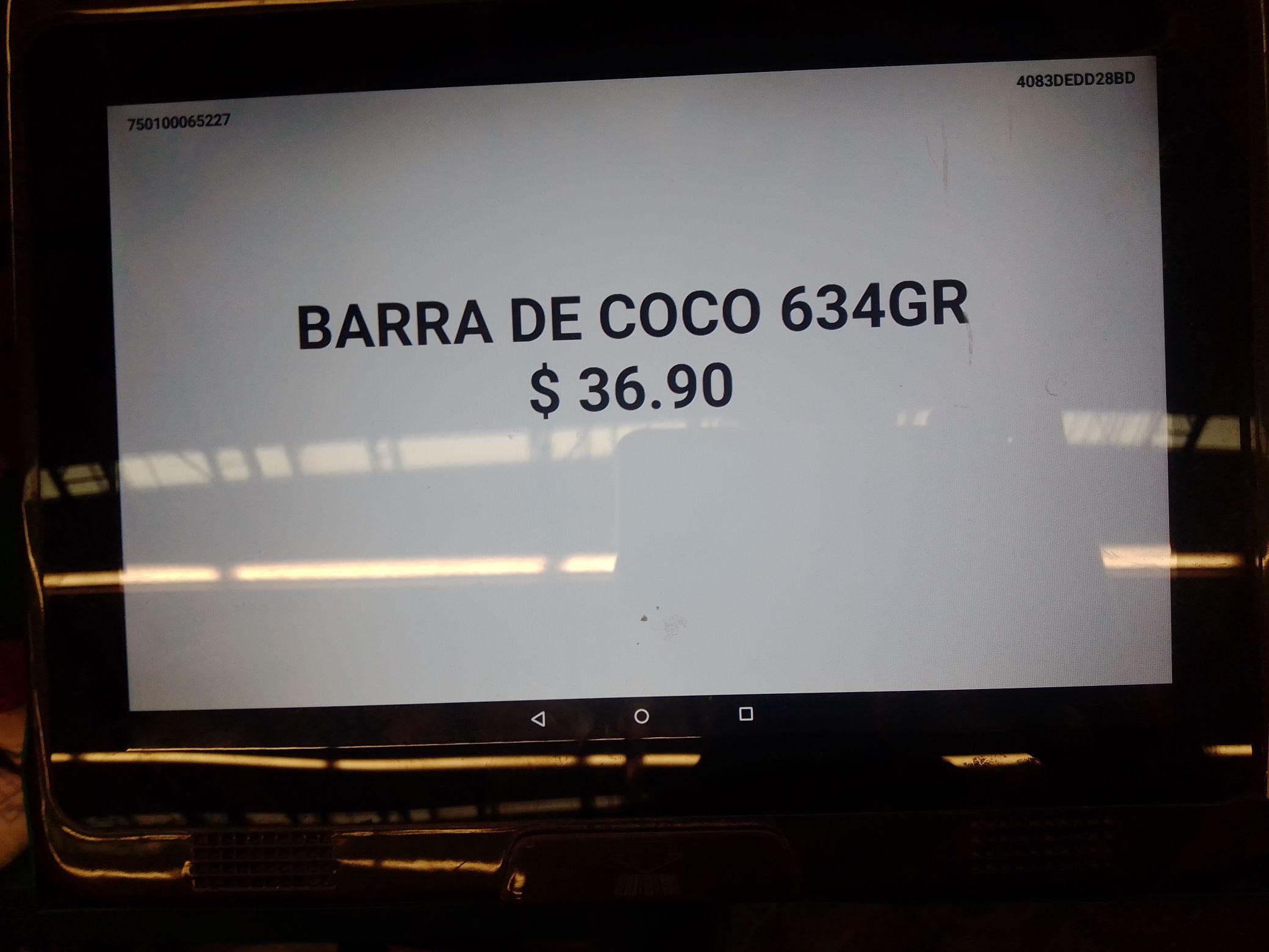 Bodega Aurrera: Barras de Coco paquete de 6 paketines