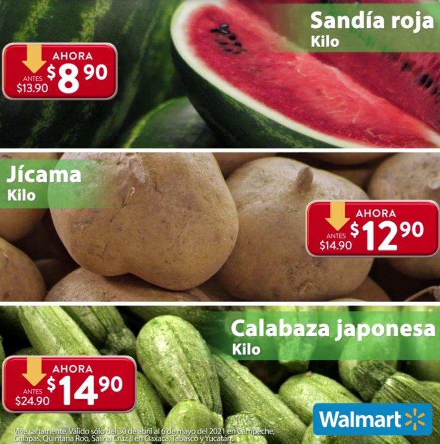 Walmart Zona Sureste: Semana de la Frescura al Jueves 6 de Mayo (plazas donde no aplica el Martes de Frescura)