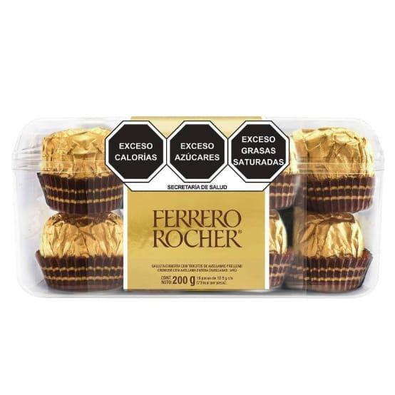 Sam's Club: Chocolate Ferrero Rocher Relleno con Avellana con 16 pzas (Envío gratis)