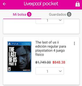 Liverpool: The last of us 2 ps4