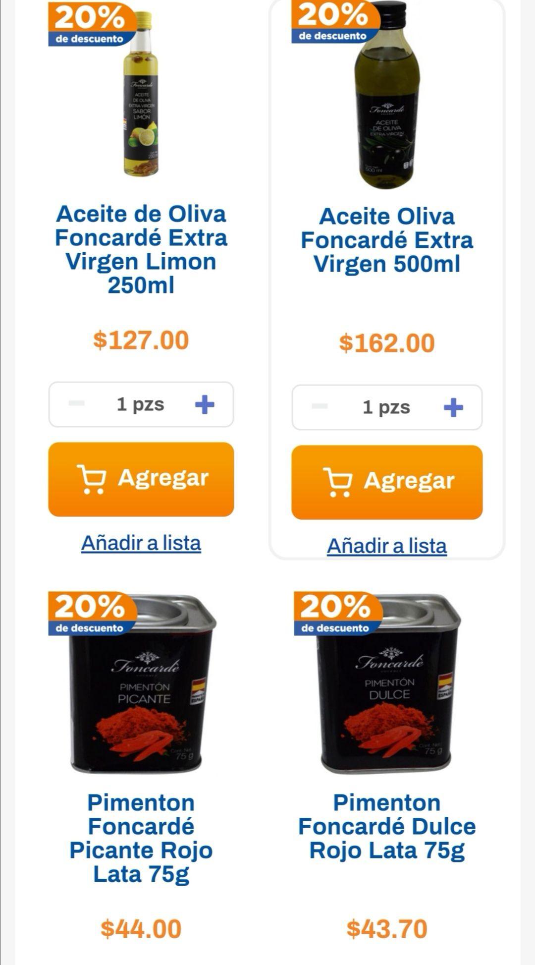 Chedraui: 20% de descuento en productos Foncardé