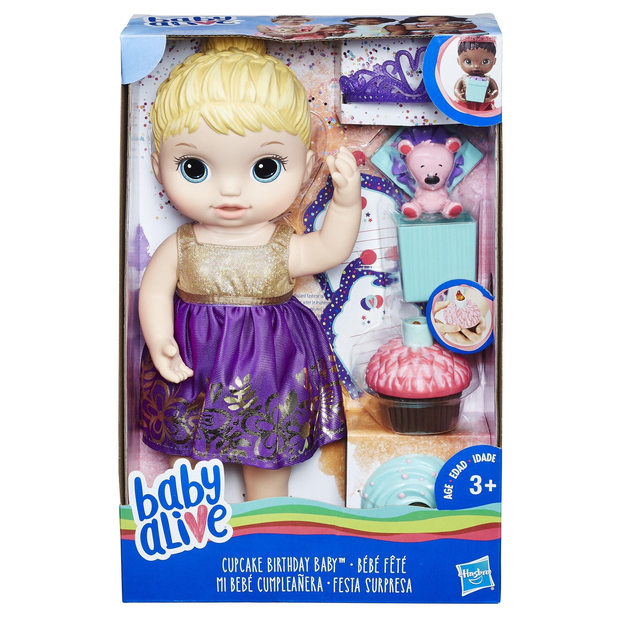 Sears: Baby Alive Muñeca Fiesta Sorpresa Hasbro