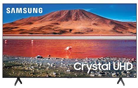 "Amazon: TV Samsung 43"" 4K UHD Smart Tv LED UN43TU7000FXZX ( 2020 )"