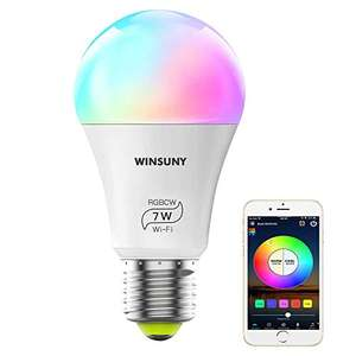 Amazon: WAYAMY Bombilla LED Inteligente / Compatible con Alexa, Google Home