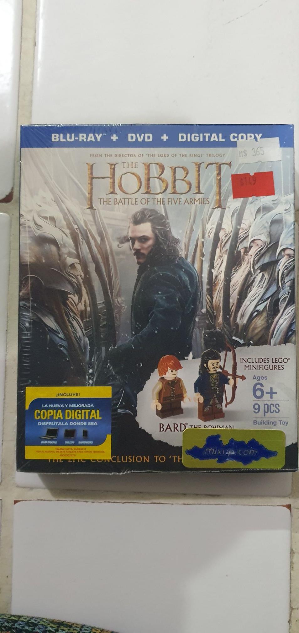 Mixup: El hobbit: The battle of the five armies.