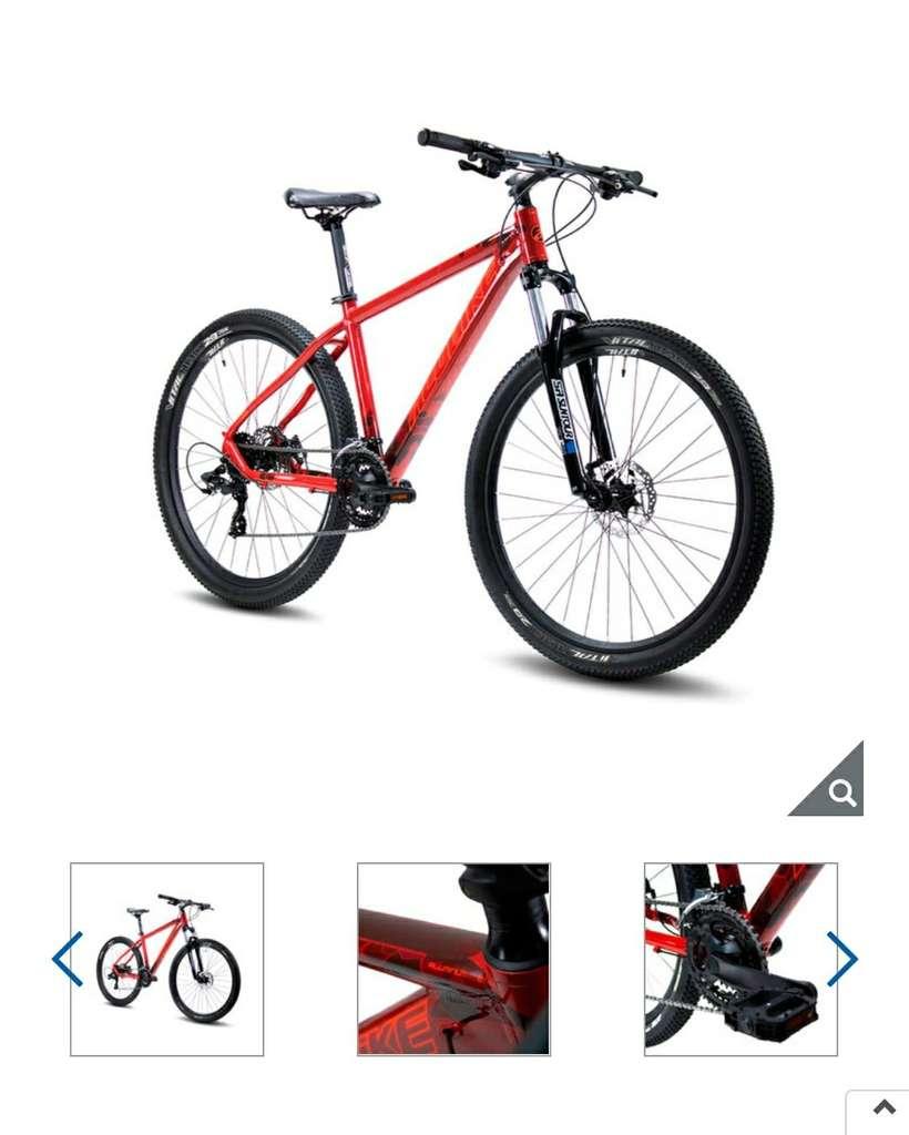 Costco: Bicicleta de Montaña R27.5 Alubike Sierra