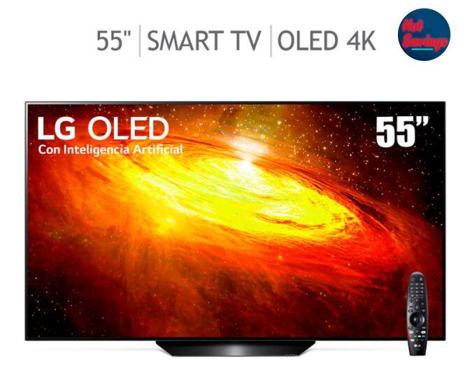 """Costco: LG Pantalla 55"""" OLED 4K SMART TV precio pagando con TDC costco citibanamex"""
