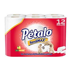 Amazon: Pétalo rendimax 12 rollos