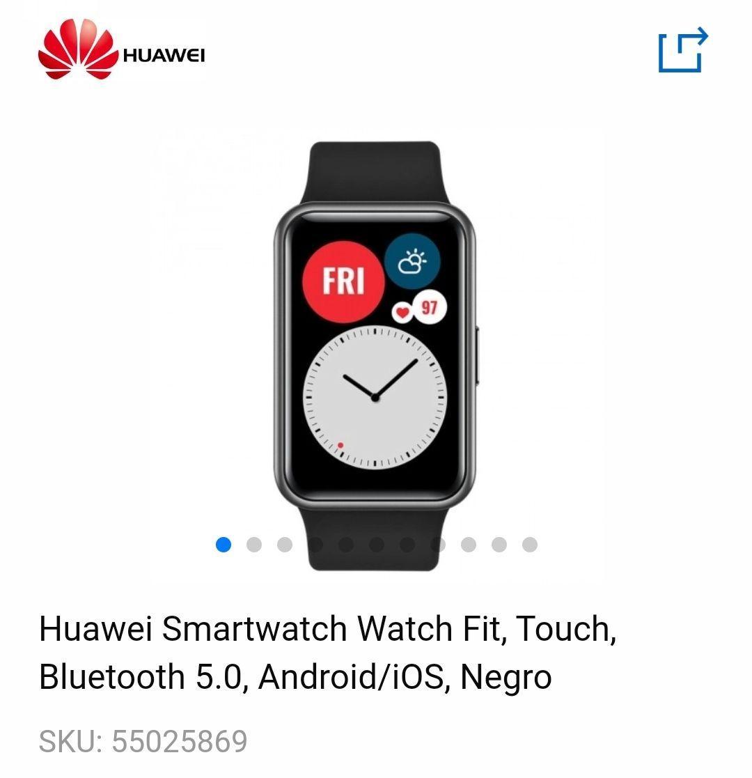CyberPuerta: Huawei Watch Fit