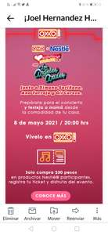 OXXO: Concierto del día de las madres de los Angeles Azules con la participación de Ana Torroja, Ximena Sariñana
