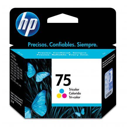 HP en línea: promoción de Cartucho de Tinta HP 75-Tricolor.