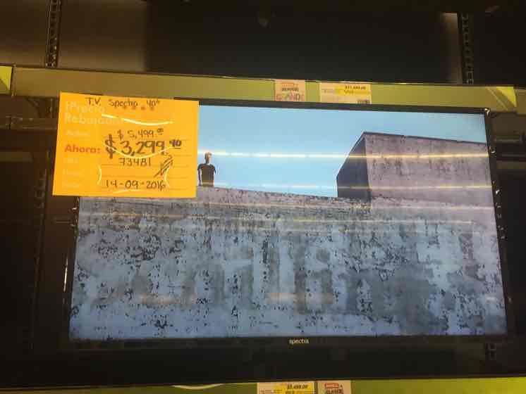 """Office Depot: TV Spectra 40"""" Full HD $3299"""