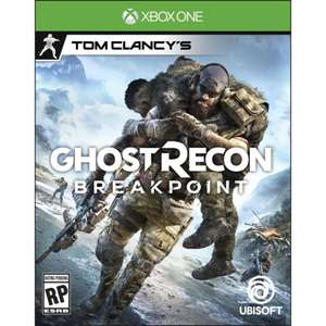 Walmart: Ghost Recon Breakpoint Xbox One Físico