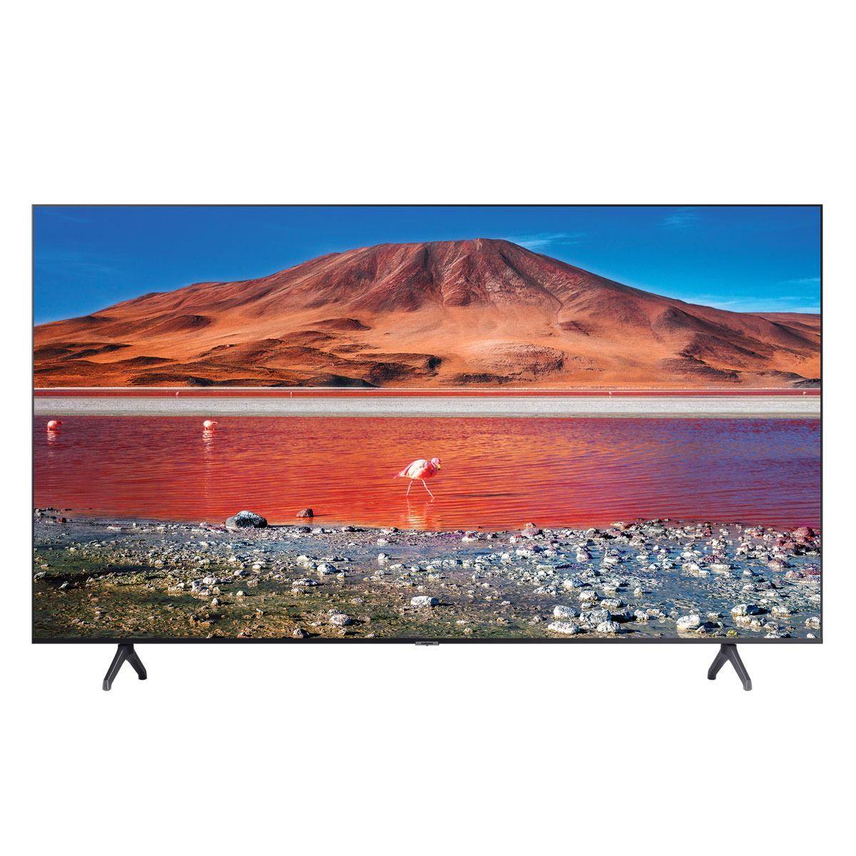 "Claro shop:Pantalla Samsung UN43TU7000FXZX 43"" Crystal UHD 4K (Banorte)"