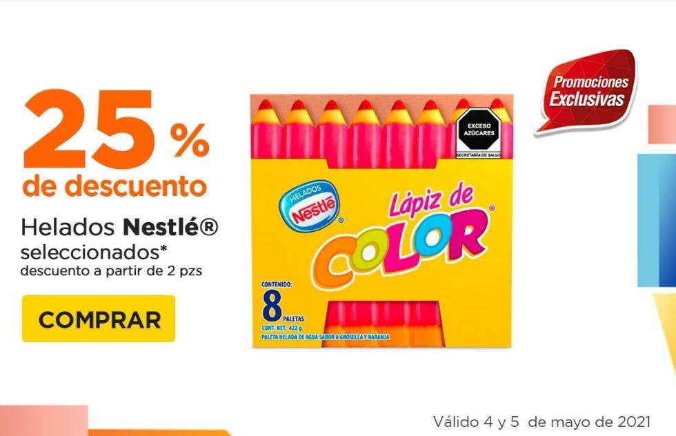 Chedraui: 25% de descuento por cada 2 Multipacks Nestlé