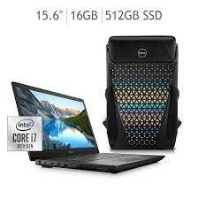 """COSTCO Dell Laptop Gaming G5 15.6"""" Intel® Core™ i7 16G 512G SSD NVIDIA® GeForce® GTX 1660Ti + Mochila con Costco citibanamex"""