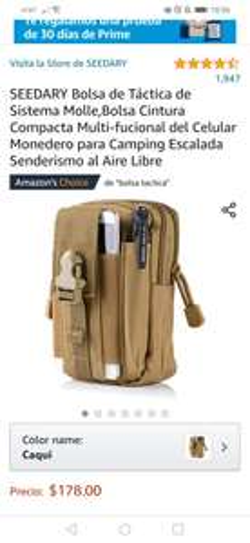 Amazon: Seedary bolsa tactica