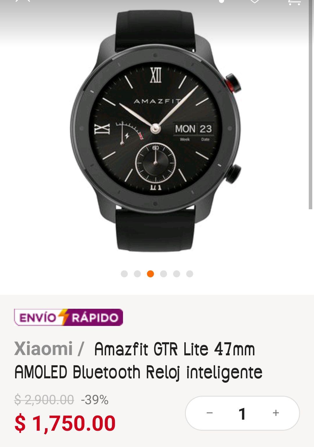 Linio: Smartwatch Gtr Lite