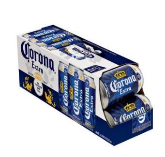 Walmart: 3 paquetes de 12 latas de Corona Extra por $259 (36 cervezas en total)