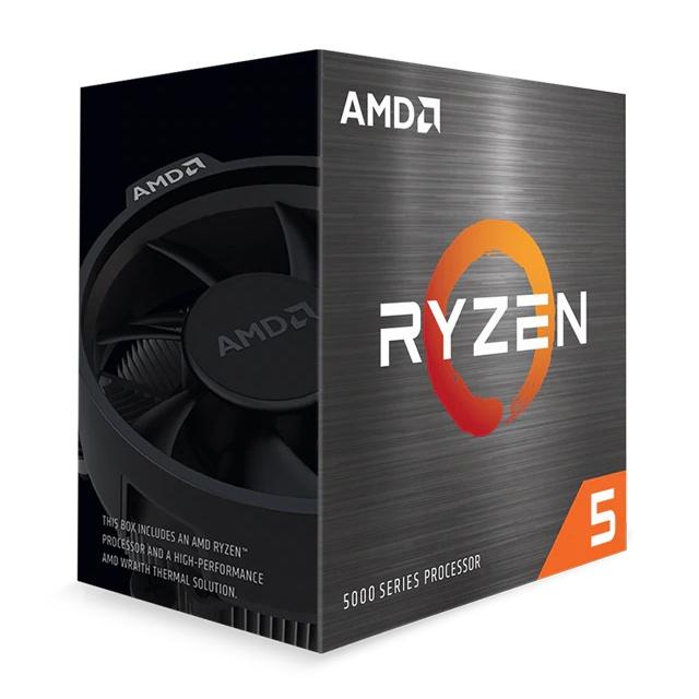 CyberPuerta Procesador AMD Ryzen 5 5600X, S-AM4, 3.70GHz, 32MB L3 Cache - incluye Disipador Wraith Stealth