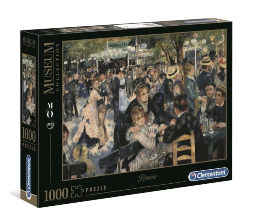 Walmart: Rompecabezas Clementoni Renoir