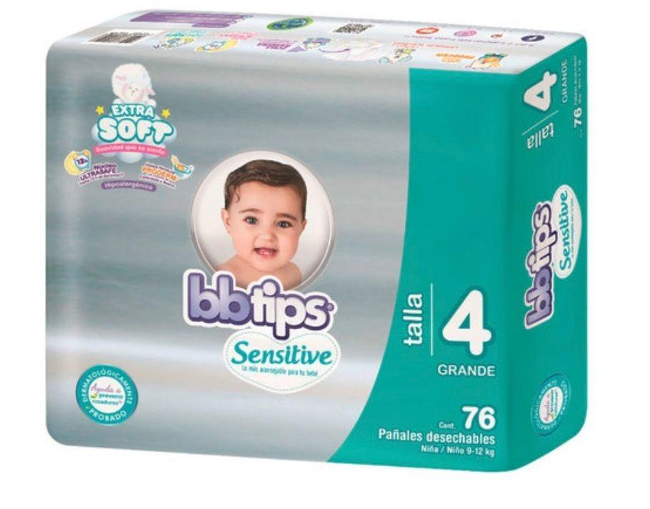 Soriana: Bbtips etapa 4 / 76 pzas (ojo con tarjeta de puntos)