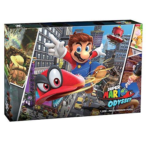 Amazon: Rompecabezas de 1000 Piezas de Super Mario Odyssey