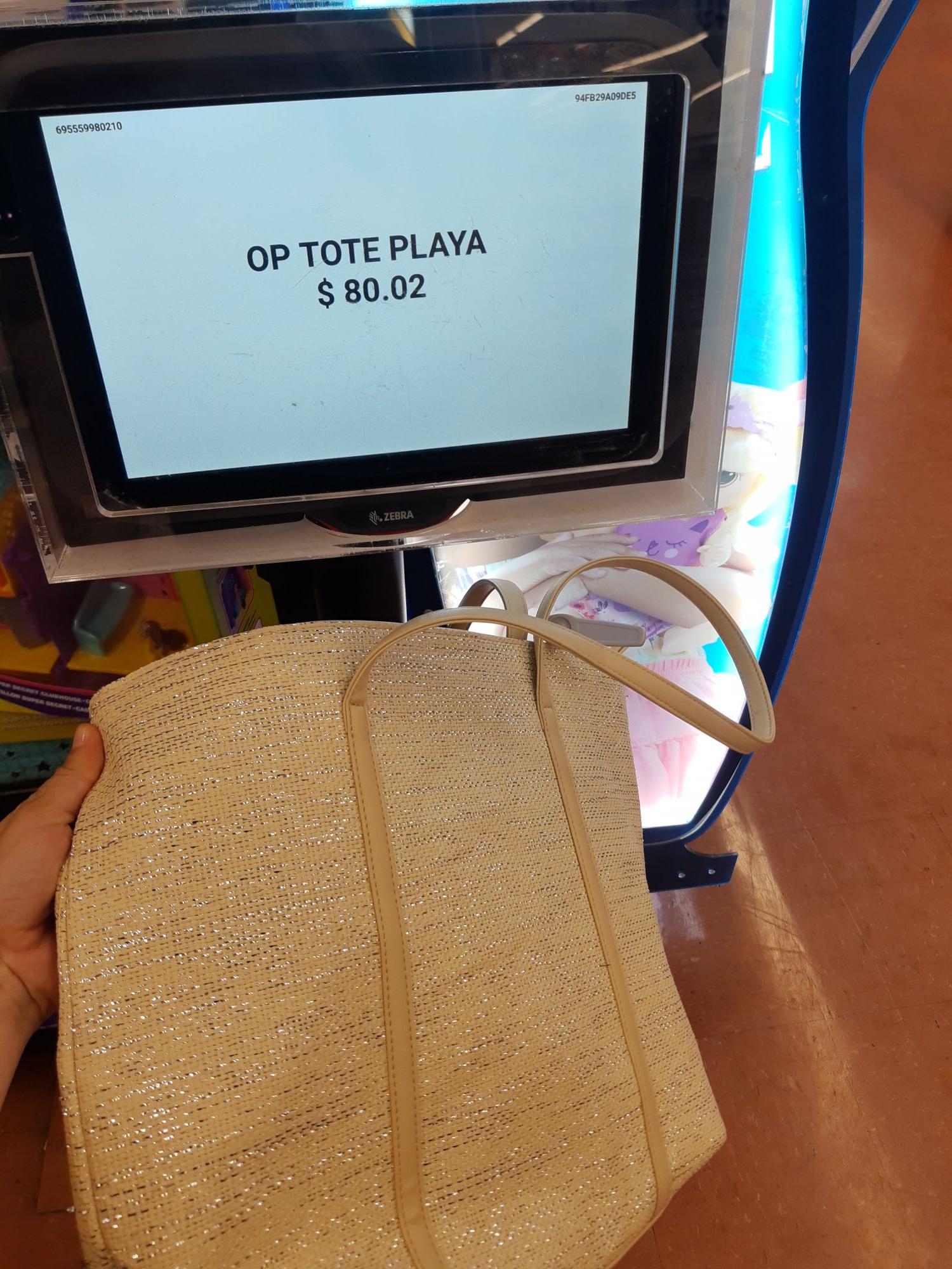 Walmart: Bolsas para playa en segunda liquidación