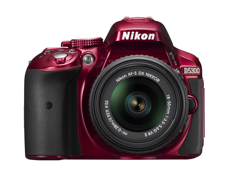 Amazon MX: Cámara DSLR Nikon D5300 con lente 18-55 mm