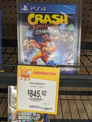 Walmart: Crash Bandicoot 4 Its about time