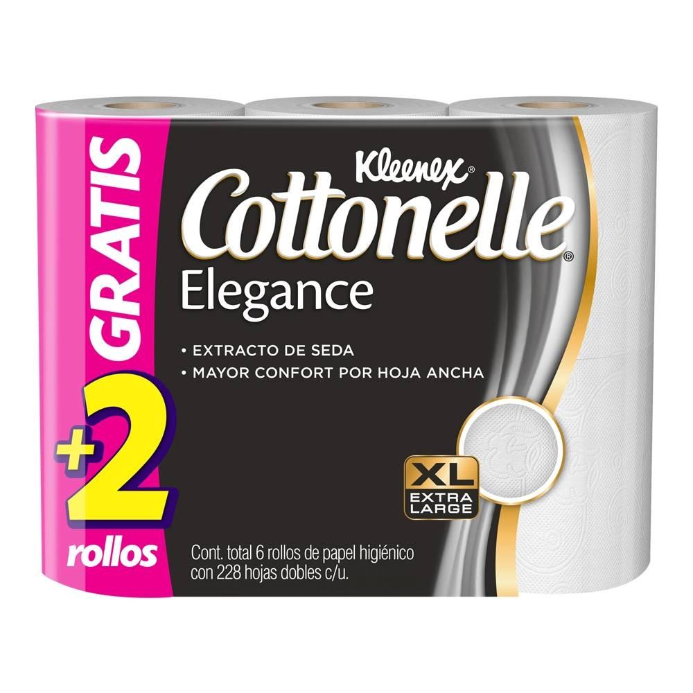Superama: Cottonelle Elegance 6 rollos x $25