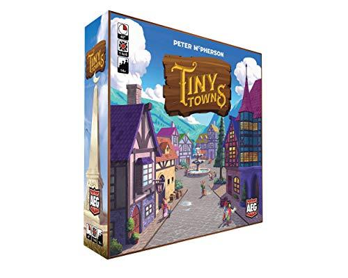 Amazon: Tiny Towns juego de mesa familiar