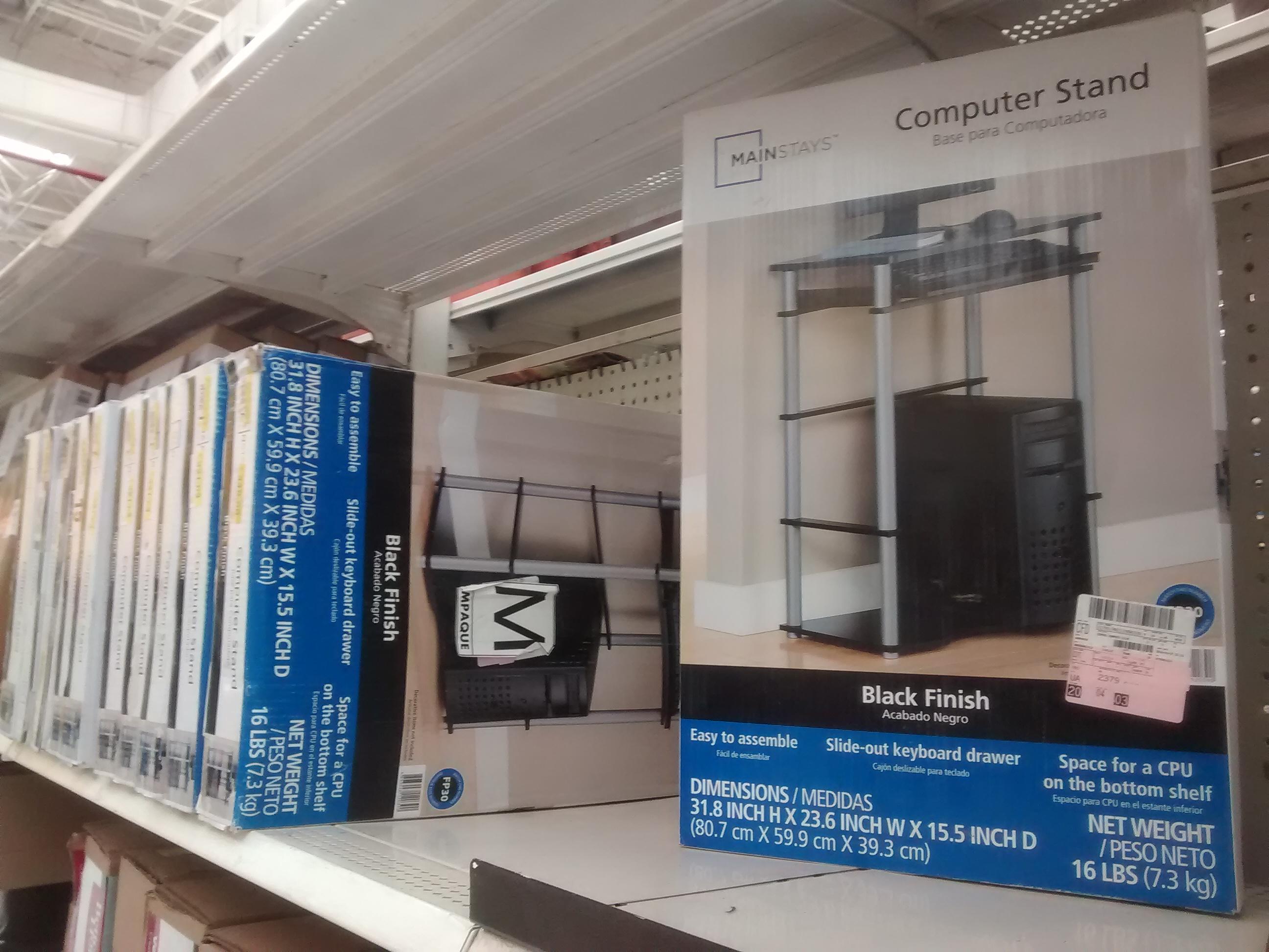 Walmart Cln: Base para computadora (escritorio) $225.03