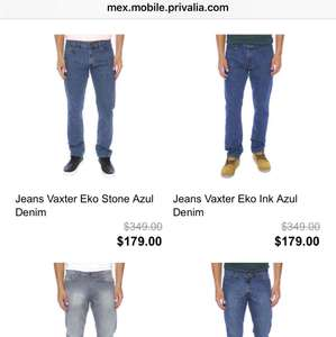 Privalia: OGGI jeans desde $179