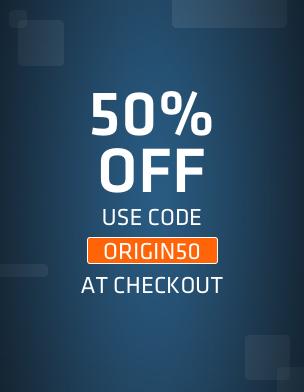 Origin: 50% de descuento con cupón