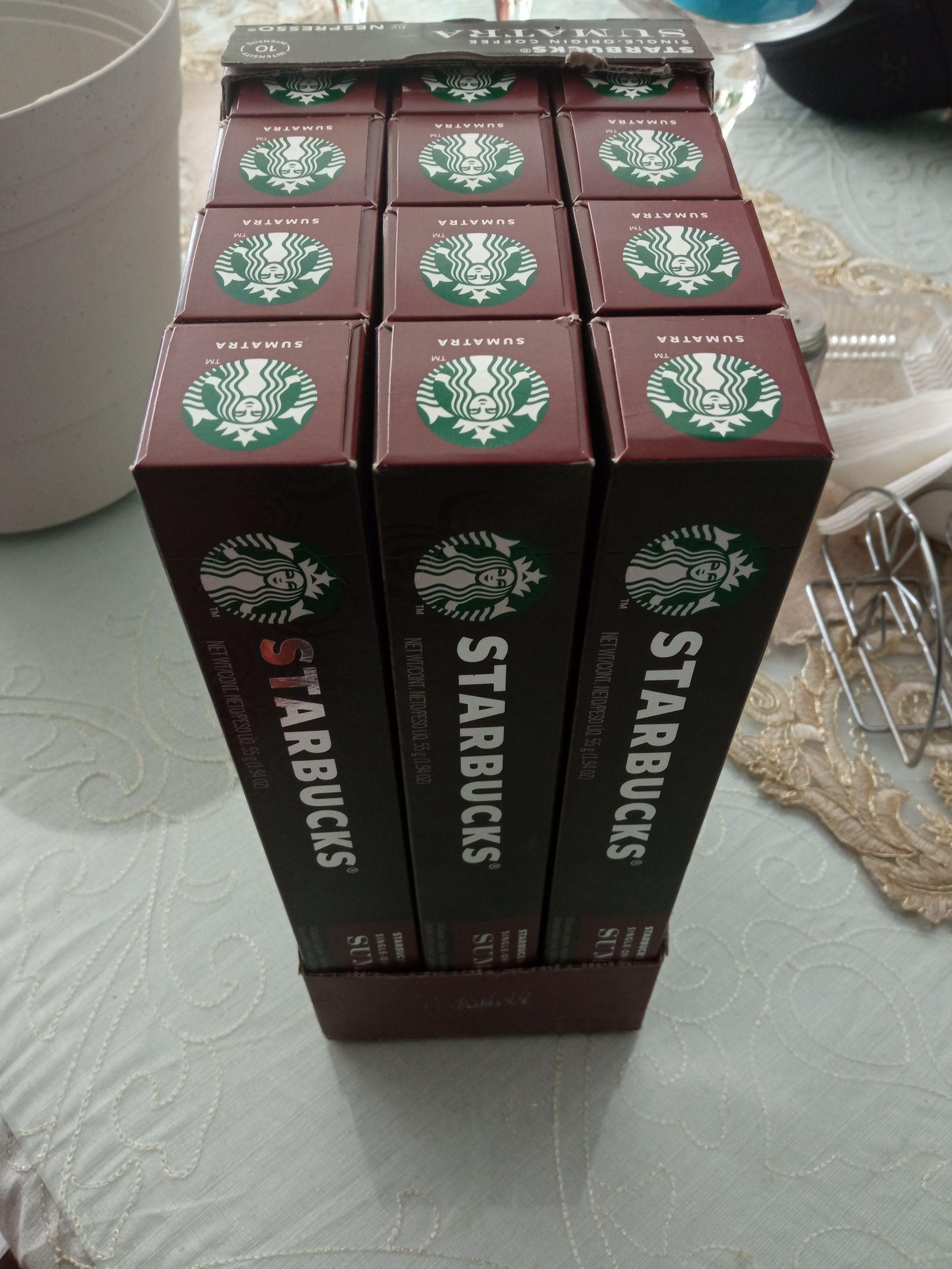 Chedraui: Cápsulas de café Starbucks SUMATRA para Nespresso