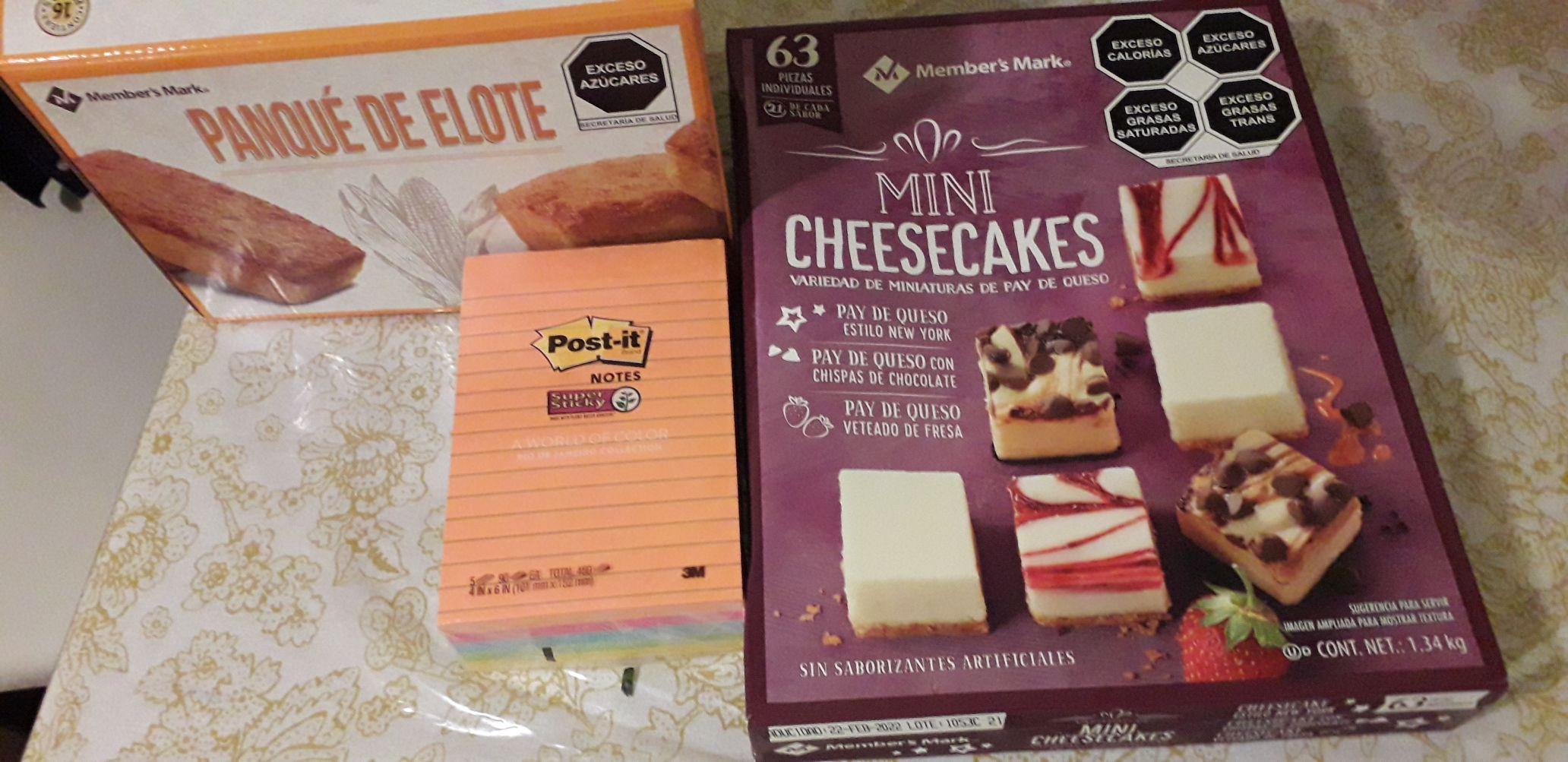 Mini cheesecake y mas en sams López Mateos,León, Gto.