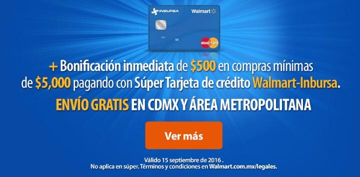 Walmart en línea: Envio gratis en CDMX y aérea metropolitana