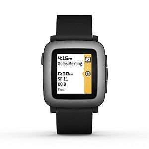 eBay: Pebble Time Negro a 70 USD (solo con estafetamembers)