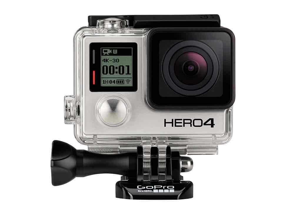 Liverpool en línea: Gopro Videocámara Hero 4 GoPro Negro de 11499 a 8797
