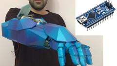 Udemy: Arduino Construye tu propio brazo robot con reconocimiento de voz [En inglés]
