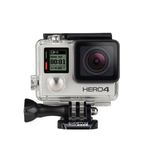 Amazon: GoPro HERO 4 Videocámara Silver Edition
