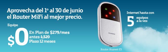 Movistar: dispositivo MiFi con 3GB a $279 por mes