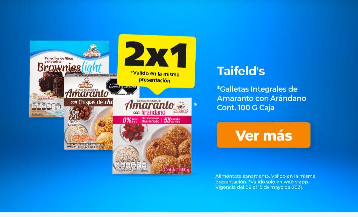 Farmacia San Pablo: 2x1 en Galletas Taifeld's