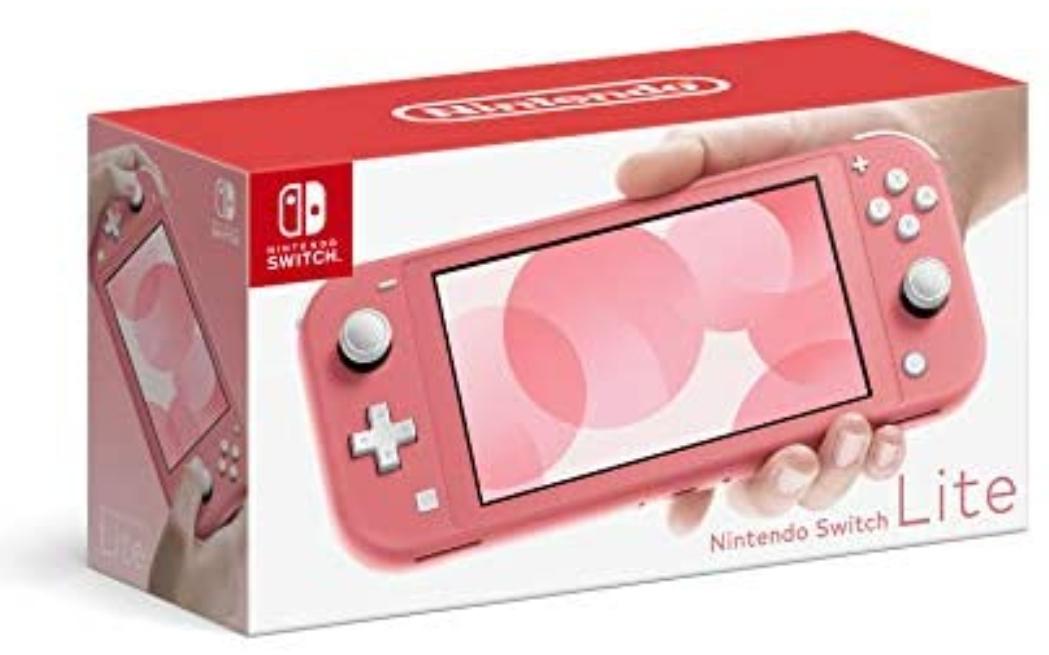 Elektra: Consola Nintendo Switch Lite Coral pagando con Tarjetas de Crédito de Banco Azteca