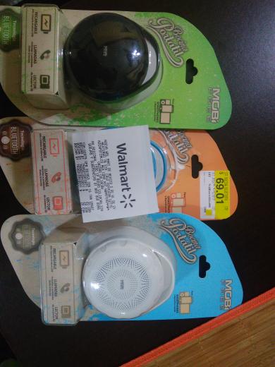 Walmart Culiacán 3 Rios: Bocina Bluetooth Mobi a $20.03