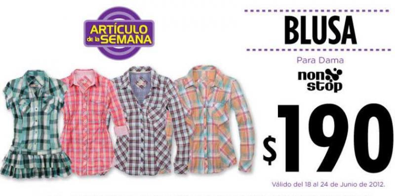 Artículo de la semana en Suburbia: blusa para dama $190