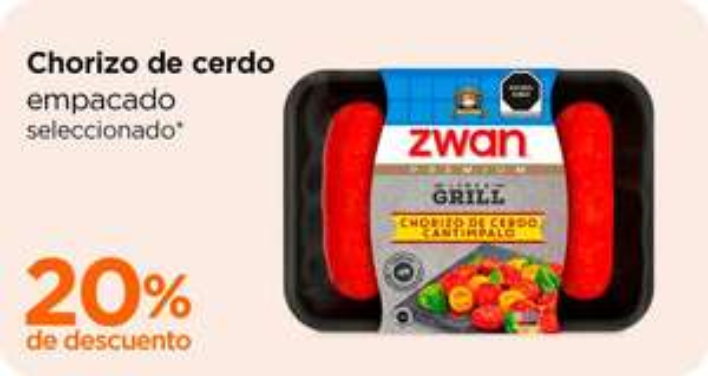 Chedraui: 20% de descuento en chorizo de cerdo empacado seleccionado