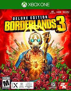 Amazon: Borderlands 3 Deluxe Edition Xbox One o Playstation 4