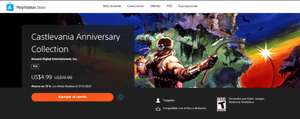 PlayStation Store: Castlevania Anniversary collection